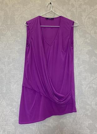 Шелковая блуза топ бренда laurel. размер 34, s-м