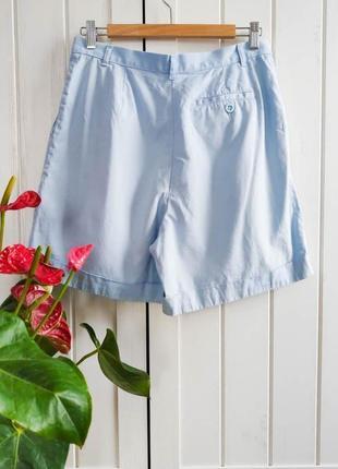 Нежные голубые шорты бермуды от m&s, размер l-xl2 фото