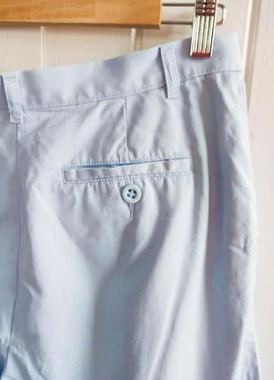 Нежные голубые шорты бермуды от m&s, размер l-xl3 фото
