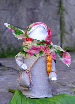 Народная обереговая кукла  успешница