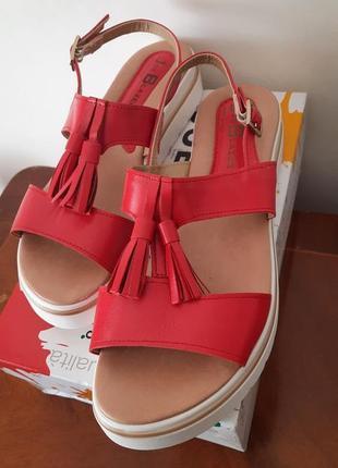 Босоножки италия кожаные кожа шкіряні сандалі сандали босоніжки натуральна шкіра vera pelle італія