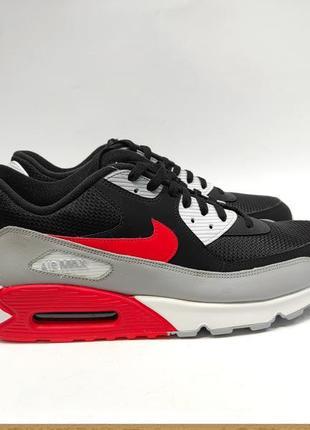 Кросівки чоловічі nike air max оригінал чорні нові сток