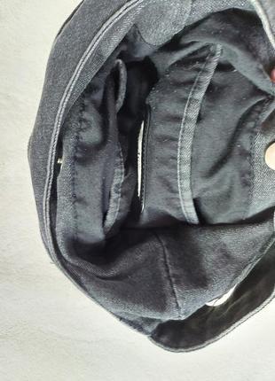 Сумка джинсовая с замочками6 фото