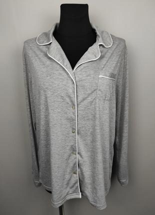 Пижама рубашка красивая мягкая трикотажная uk 14-16