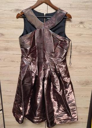 Женское нарядное платье, сарафан хамелеон, 42 (48) р.