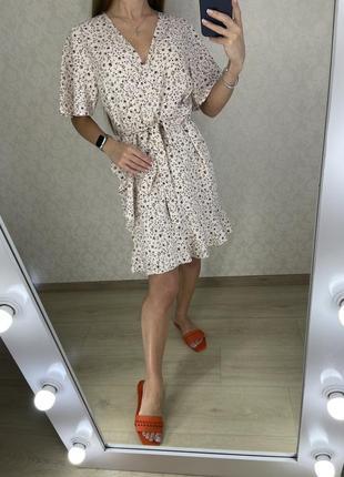 Платье в мелкий цветочек topshop