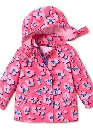 Термо куртка от дождя и ветра тсм tchibo германия, 110-116