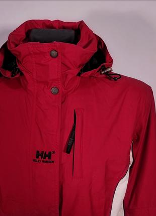 Куртка helly hansen мембранная туристическая helly tech® ветровка
