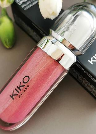 Блеск для губ с 3d эффектом kiko