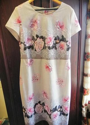 Платье летнее 56 размер