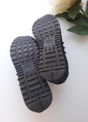 Комбинированные кроссовки  с камуфляжным принтом 😎10 фото