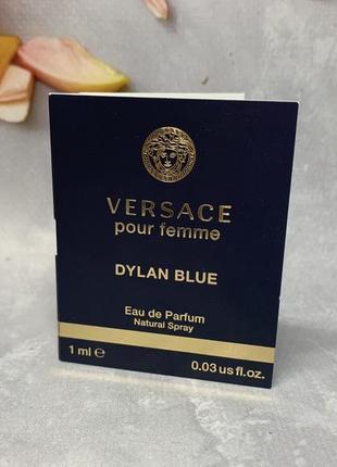 Пробник versace pour femme dylan blue