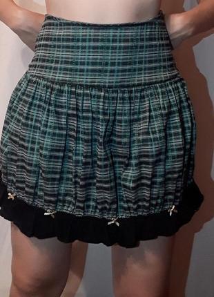 Школьная юбка юбочка в клетку клеточку