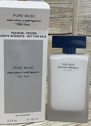 Narciso rodriguez pure musk for her tester 100 ml