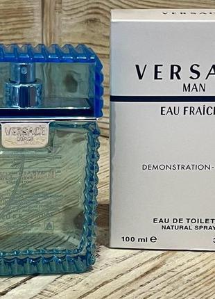 Versace eau fraiche edt 100 ml tester 100 ml