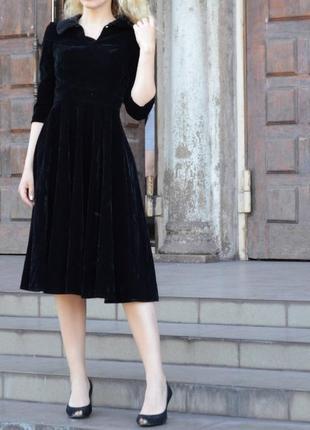 Велюровое бархатное платье в готическом стиле ретро винтаж аниме косплей готика