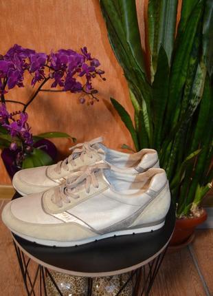 Кожаные кроссовки gabor