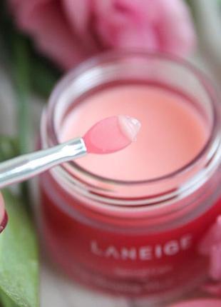 """Оригинал! ночная маска для губ """"лесные ягоды"""" - laneige lip sleeping mask berry: 100%  оригинал9 фото"""