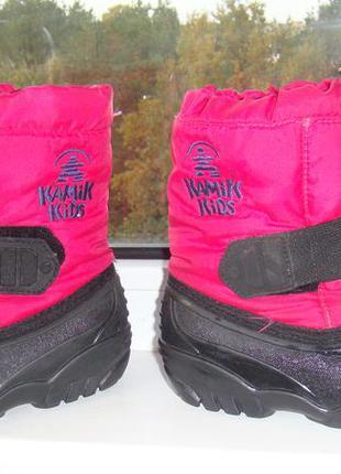 Сноубутсы kamik 8 наш 25р зимние ботинки Kamik 42e028a27616d