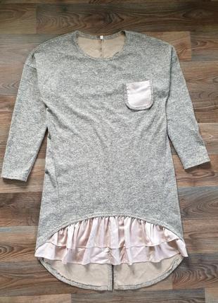 Платье туника трикотаж р-р 50
