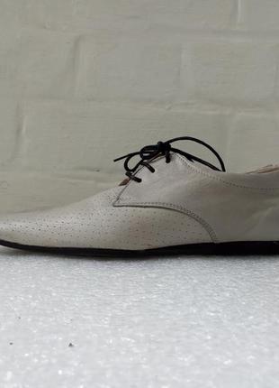Кожаные туфли мужские размер 41