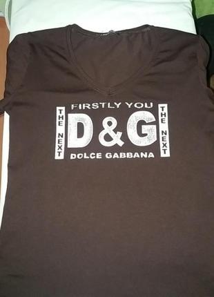 Брендова футболка dolce gabbana s