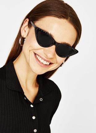Крутейшие очки в стиле cat eye bershka