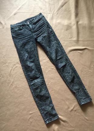 Трендовые джинсы скинни варенки с высокой посадкой от h&m