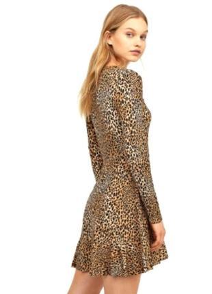 Крутое леопардовое платье от h&m