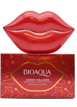 Гидрогелевые патчи для губ с экстрактом цветков сакуры bioaqua