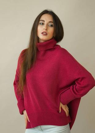Женский вязаный свитер/меринос 💯