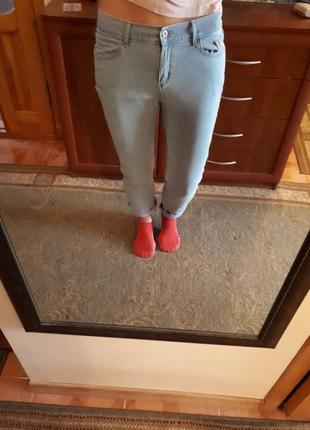 Джинсы брюки штаны светлые
