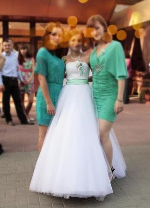 Весільна сукня 34-36р./ свадебное платье