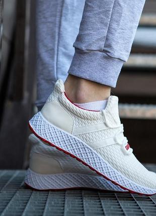 Кросівки чоловічі білі (в02053)