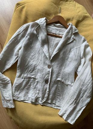 Базовий жакет льон/пиджак лен