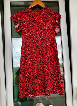Шикарное хлопковое платье 👗🌺 lc waikiki 140-146-152