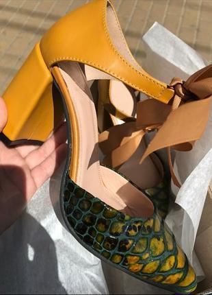 Туфли ручной работы эксклюзив