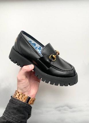 Gucci loafers horsebit туфли гуччи туфлі жіночі гучі