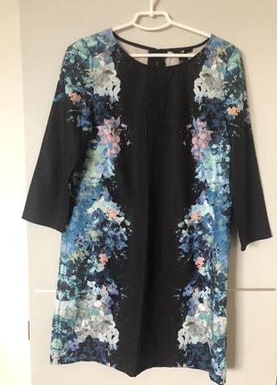 Красивое свободное платье  h&m