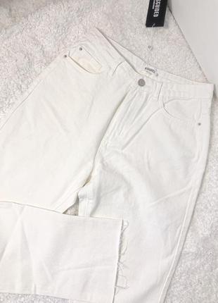 Прямые джинсы missguided с необработанным низом