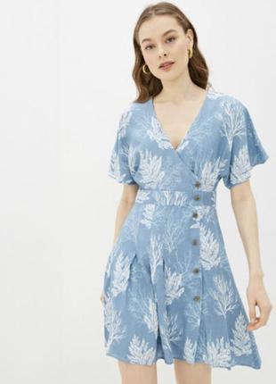 Платье pepe jean's lúa с запахом новое