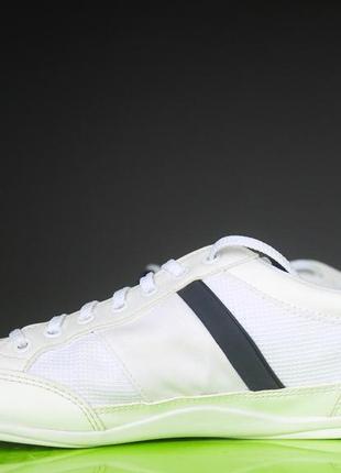 Білі кросівки lacoste оригінал2 фото