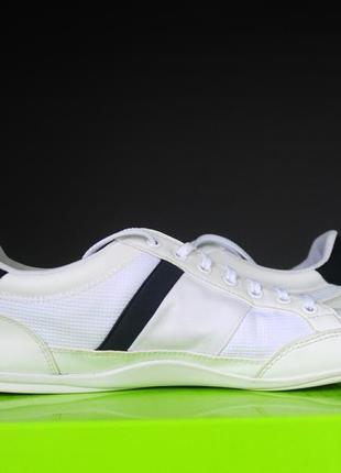 Білі кросівки lacoste оригінал5 фото
