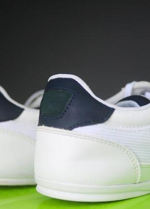 Білі кросівки lacoste оригінал4 фото