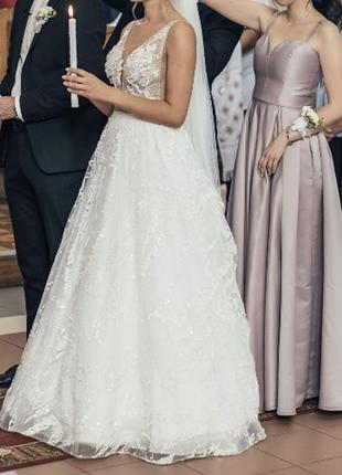 Платье свадебное millanova сукня весільна4 фото