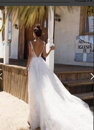 Платье свадебное millanova сукня весільна6 фото