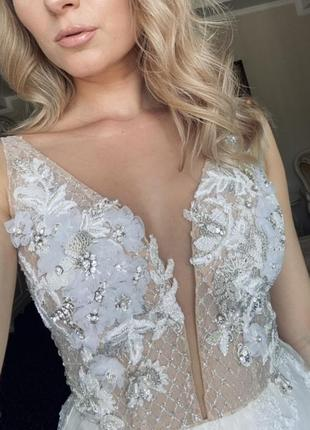 Платье свадебное millanova сукня весільна3 фото