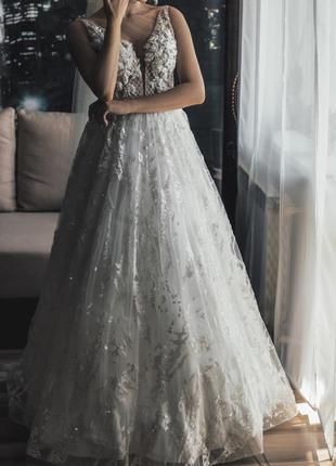 Платье свадебное millanova сукня весільна5 фото