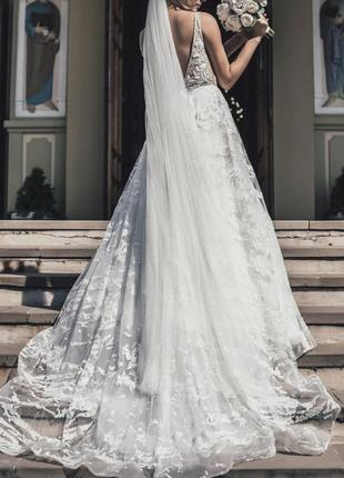 Платье свадебное millanova сукня весільна2 фото