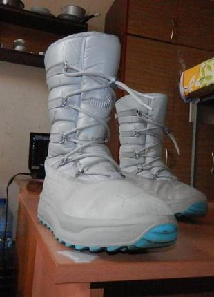 Утепленные ботинки puma